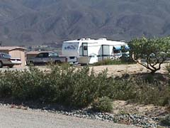 Our rig at Jojoba Hills